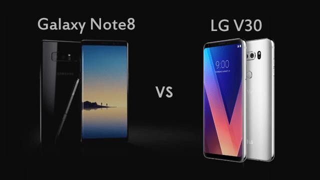 Galaxy Note 8 vs LG V30, Mana yang Paling Keren?